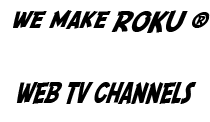 #1 ROKU Channel Developer