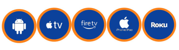 Amazon Fire ROKU Apple TV Smart TV IOS Apps, Ipad Apps Android Apps
